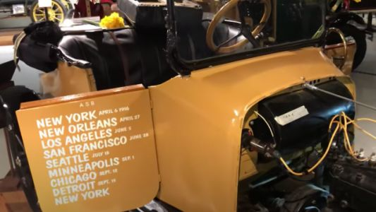 Listen To This 1916 Saxon Model 14 Start Up For The First Time In Decades