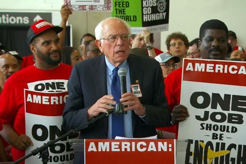 How Bernie Sanders would boost unions