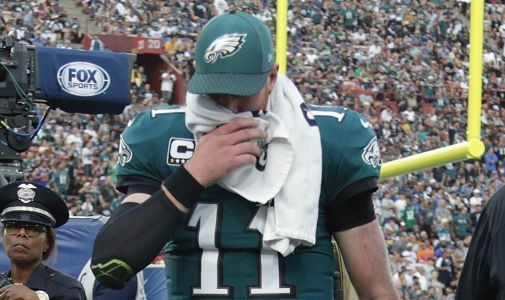 Eagles QB Carson Wentz had separate back issue in college, report says