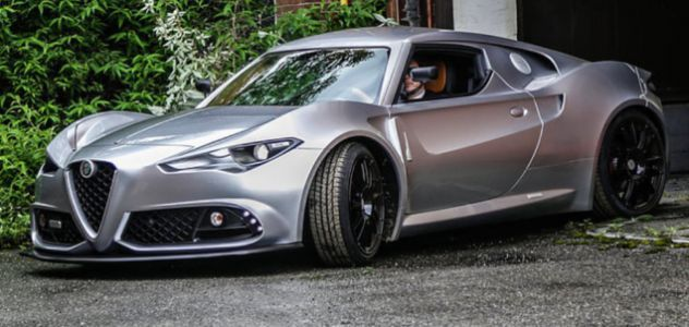 The Car Gods Have Graced This One-Off Custom Alfa-Romeo 4C With Incredible Good Looks