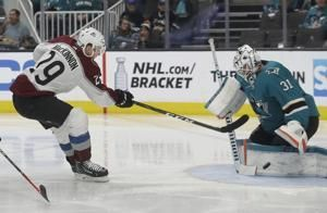 Speed of Avs, Flames on display in 1st-ever playoff meeting