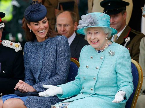 Kate Middleton and Meghan Markle are modern royals - and their lives couldn't be more different from Queen Elizabeth's at their age
