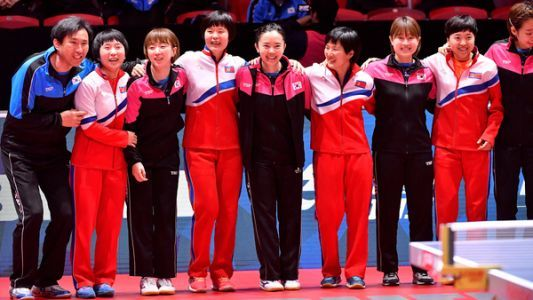 North, South Korea Skip Table Tennis Match Against Each Other And Vow To Become One