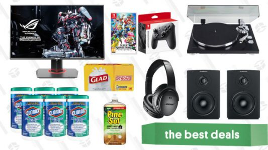 Saturday's Best Deals: Rakuten Sitewide Sale, Instant Pot, Slime Gold Box, and More