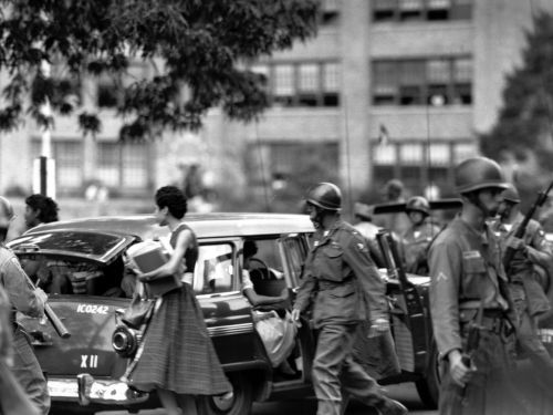 It's been 60 years since 9 black school children desegregated an all-white high school and were met with an angry mob