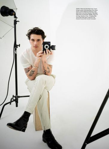 Brooklyn Beckham Takes Control for Icon Cover Shoot