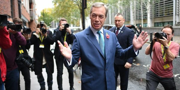 Nigel Farage boosts Boris Johnson's election prospects by standing down Brexit Party candidates in Conservative seats