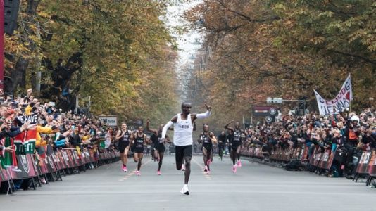 Eliud Kipchoge Dashes Past 2-Hour Marathon Barrier In Assisted Event