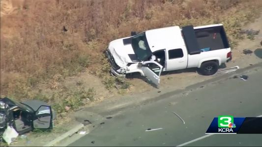 Man arrested in I-80 crash that killed CHP officer, another driver