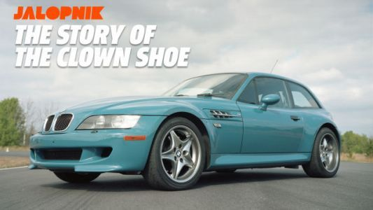How the Clown Shoe BMW Z3 M Coupe Became One of the Ugliest Cars Ever Made