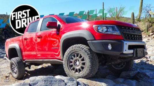 Here's Why the 2019 Chevy Colorado ZR2 Bison Can Take Such a Hammering Off-Road