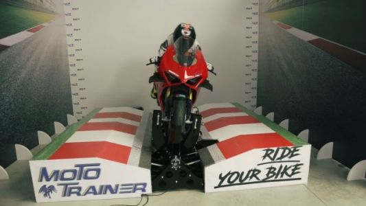 This $18,000 MotoGP Simulator Means Year-Round Track Days In Your Garage