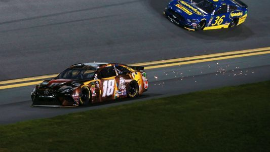Kyle Busch to Jimmie Johnson: 'Open your eyeballs and see where the f- you're going'