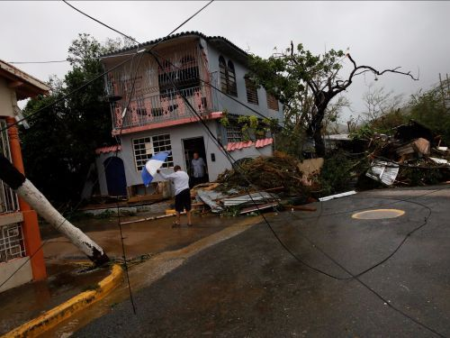 A dam in Puerto Rico is failing after Hurricane Maria and forcing towns to evacuate
