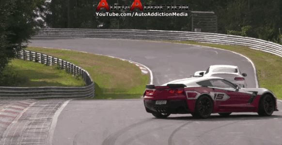 Corvette Z06 Loses Fight With a Wall at theNürburgring