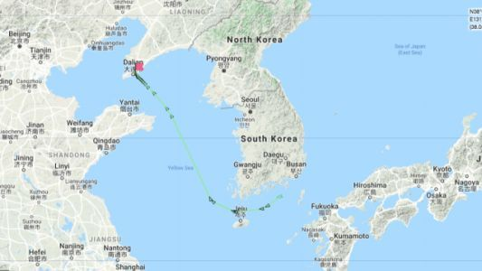 Here's How To Follow The U.S. Cargo Ship Rushing To Beat New Chinese Tariff