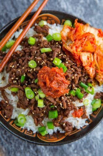 20 Minute Korean Beef