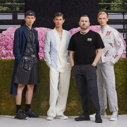 Everything you need to know about Kim Jones' debut Dior Homme show