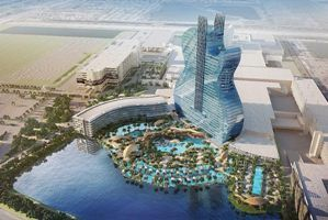 $1.5 billion Hard Rock, the world's first guitar-shaped hotel to open in South Florida in Oct, 19'