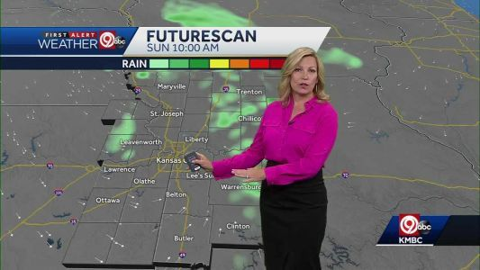 DODGING DROPS: Spotty afternoon showers possible for Mother's Day