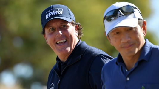 Desert Classic: Phil Mickelson is 54-hole leader after shooting 6-under 66
