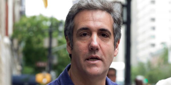 Michael Cohen reportedly gave a tech firm $12,000 and a boxing glove in a Walmart bag to try and rig polls in Trump's favor