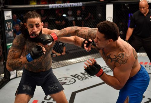 Greg Hardy says he's willing to face continued criticism while he chases a UFC championship