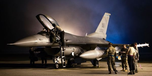 One of the Air Force's most legendary fighter squadrons is back in the Middle East