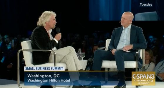 A throwaway comment in a conversation with Richard Branson hints at the future of Goldman Sachs