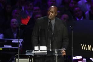 Michael Jordan's poignant Kobe tribute: 'A piece of me died'