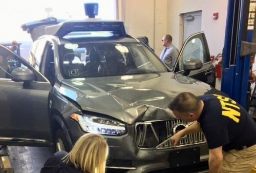 Uber's self-driving car detected pedestrian 6 seconds before fatal crash
