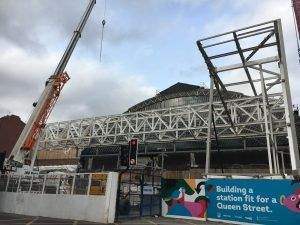 Sign Up For A sneak peak of the changing Glasgow Queen Street station