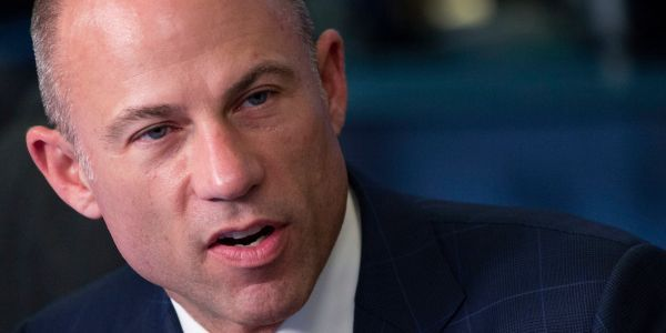 Stormy Daniels' lawyer insists he's not being funded by any PACs or a 'left wing conspiracy,' tells critics to 'get over it'
