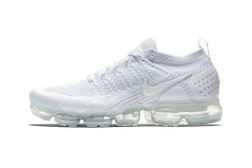 "An Official Look at the Nike Air VaporMax Flyknit 2.0 ""Triple White"""