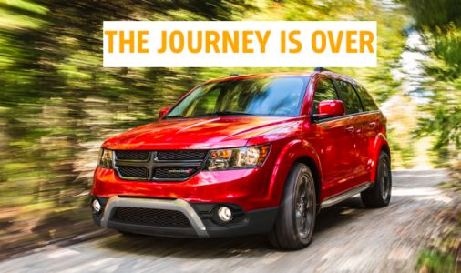 One Of Chrysler's Worst-Ever Car Platforms Dies With The Dodge Journey