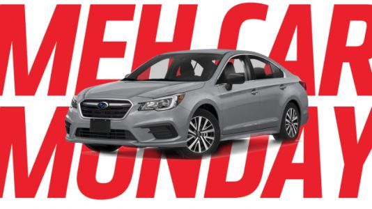 Meh Car Monday: When Was The Last Time You Thought About The Subaru Legacy?