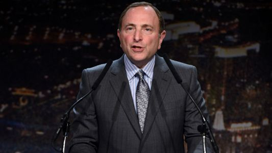NHL commissioner Gary Bettman talks gambling negotiations