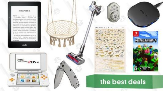 Monday's Best Deals: Cordless Dyson, Pop Chart Lab Sale, Kindle Voyage, and More