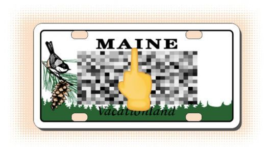 The Vanity Plates of Maine are Delightfully Awful