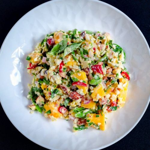 Summer Cauliflower Rice Salad