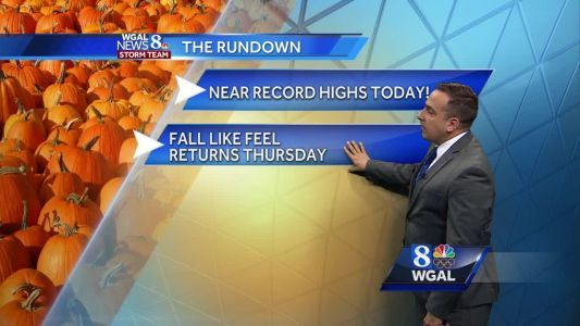 Downright muggy! Humidity forecast is high