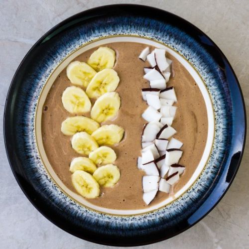 Protein Chocolate Smoothie Bowl