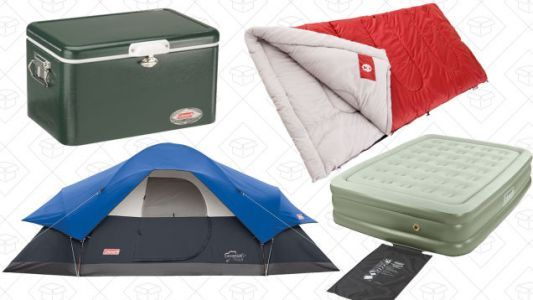 Camping Season Is Upon Us, And Amazon Is Ready With This Coleman Sale