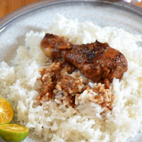 Filipino Chicken Adobo in Calmansi