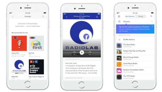 Pandora launches Podcast Genome Project for personalized recommendations