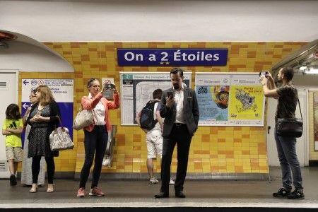 Paris renames metro stations to honor World Cup champions