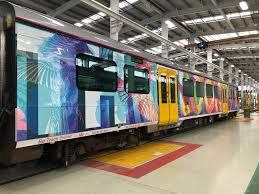 Auckland Transport trains rolled out with new look and message