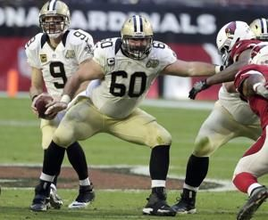 Saints Pro Bowl center Unger retiring after 10 seasons