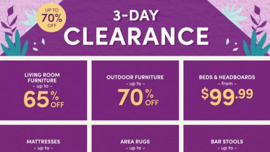 Redecorate For Spring With Wayfair's March Clearance Sale