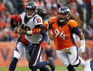 Texans roll to sixth straight win entering bye week